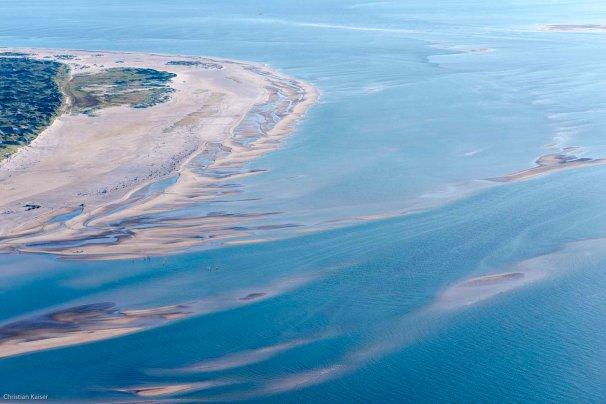 Luftbild Wattenmeer in Schleswig Holstein