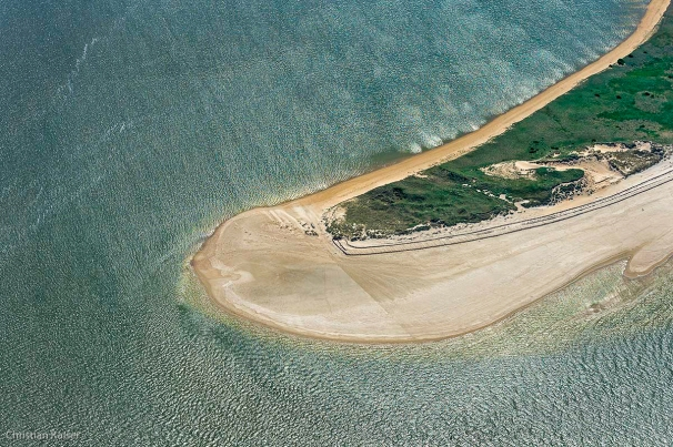 Amrum Northpart Aerial