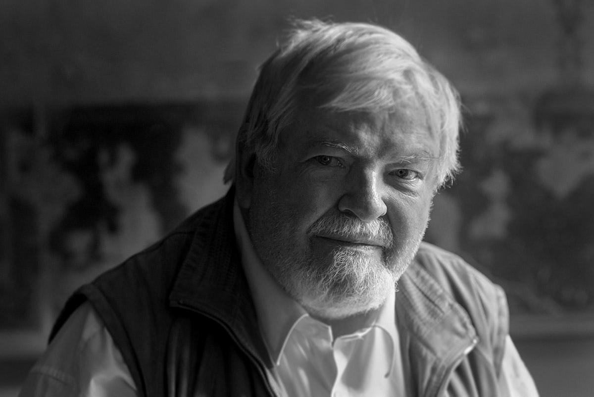 Historiker Joergen Bracker in Ottensen im Jul2018