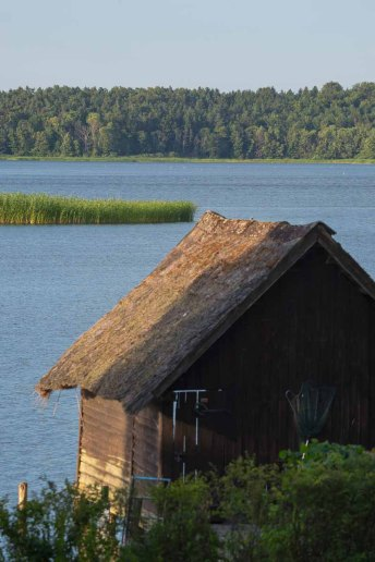 Landschaft im Naturpark Schaalsee in Seedorf