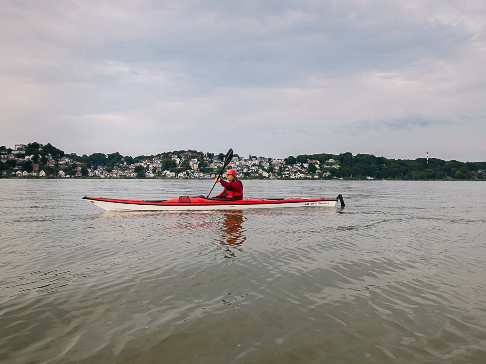 cajaking on the Elbe River