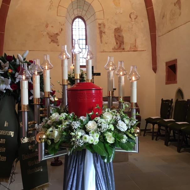 Andenken an die am 2. März 2020 verstorbene Gerlinde Gehl in Seesbach