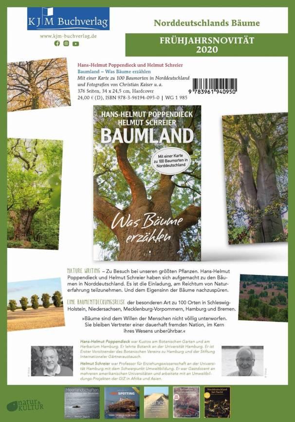 Neues Buch BAUMLAND im Handel