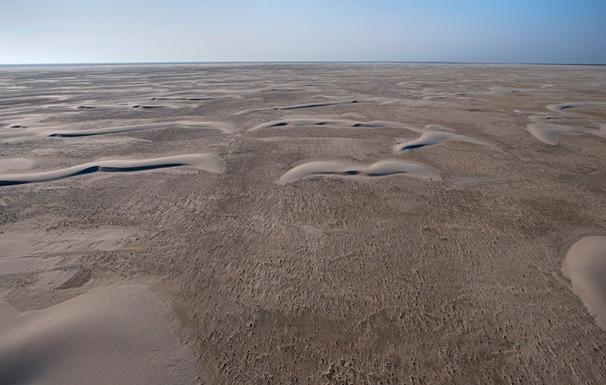 Sandbank, sand dunes, Süderoogsand, Nordsee, Nordfriesland
