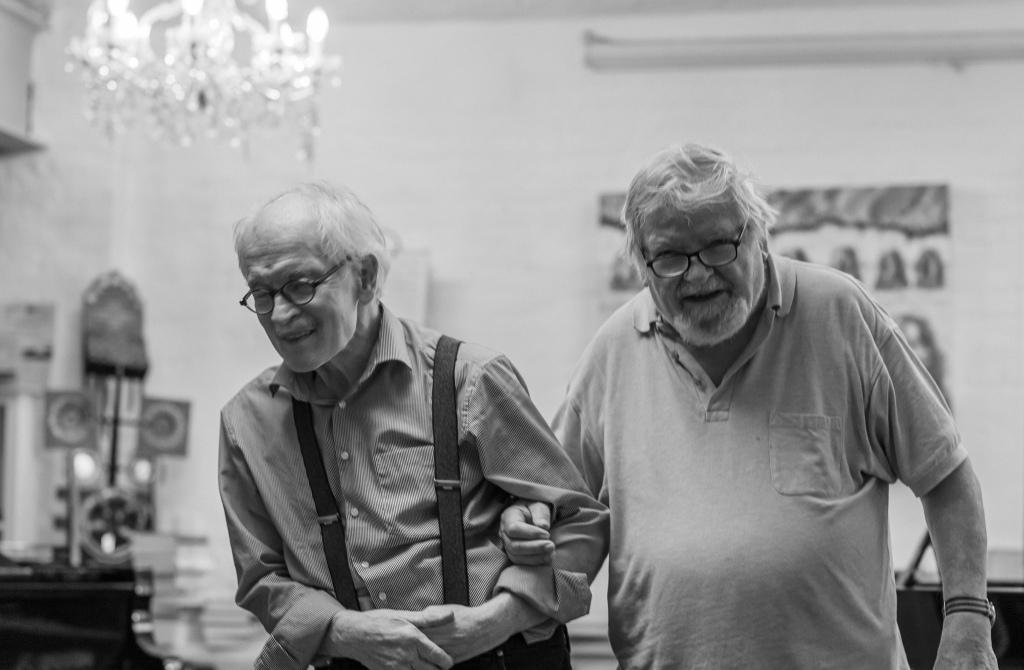 Herbert Bruhn legt, Jorgen Bracker right