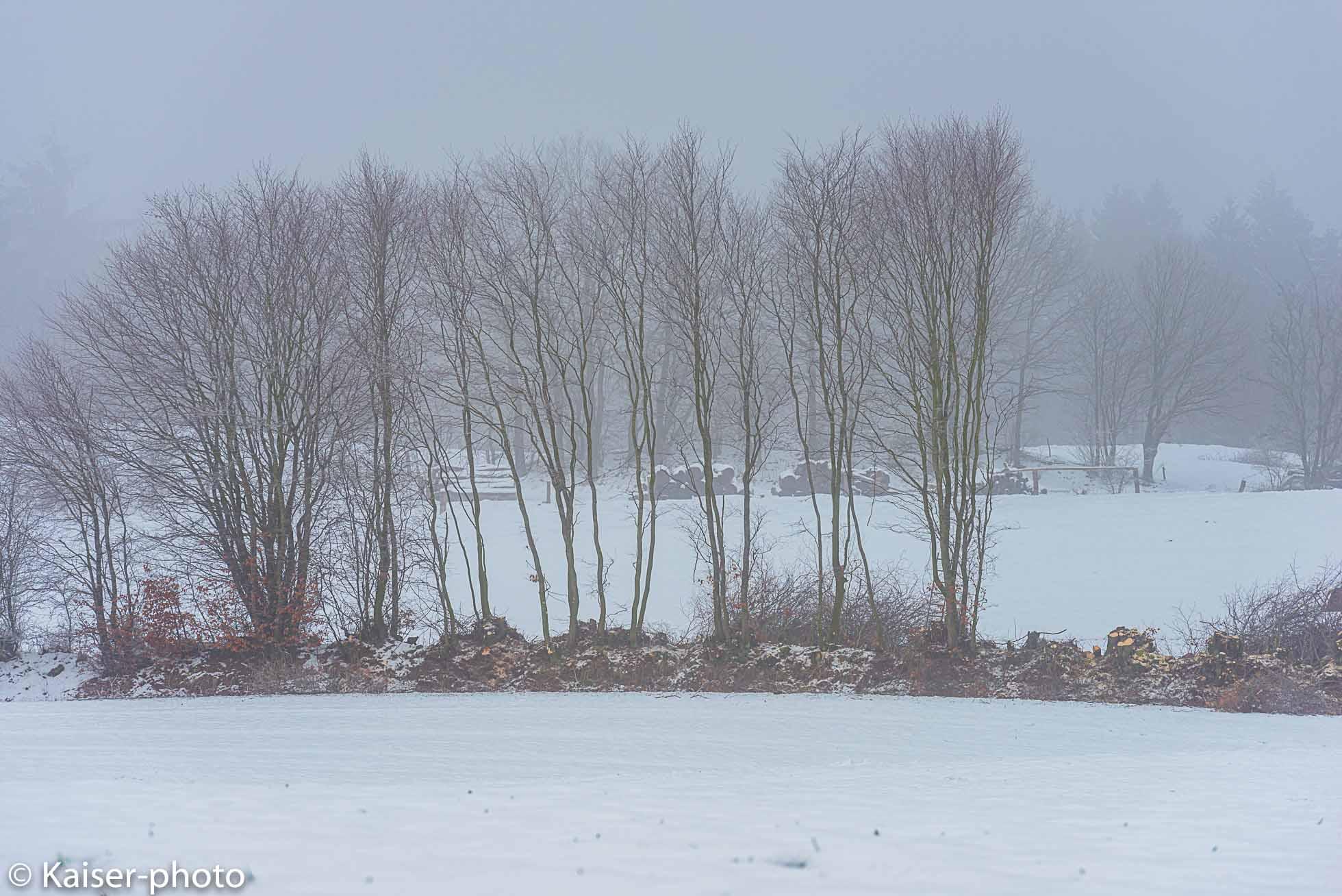 Der Wintertag geht zu Ende