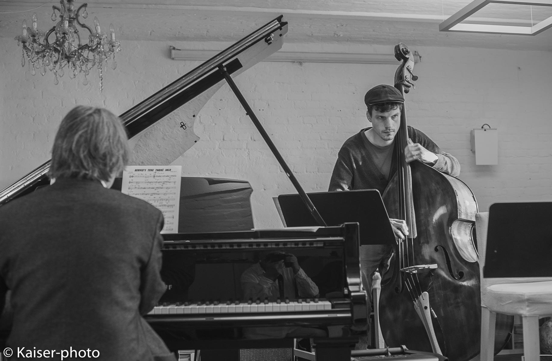 Buggy Braune Trio mit Ken Norris US Sänge